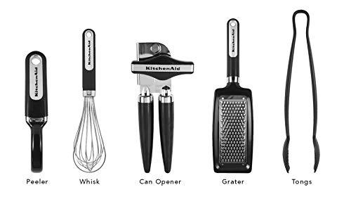KitchenAid Classic Tool and Gadget Set, 17-pc, Black