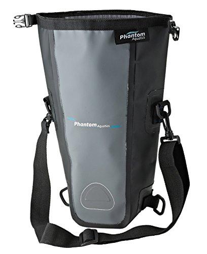 Phantom Aquatics PAQSLRB Phantom Aquatics Waterproof SLR Camera Dry Bag with Shoulder Strap (Black)