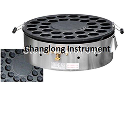 Changlong instrument FY-32BR Commercial Use LPG Gas 32pcs Rotary Dorayaki Pancake Maker Non-stick Machine Baker by Changlong instrument