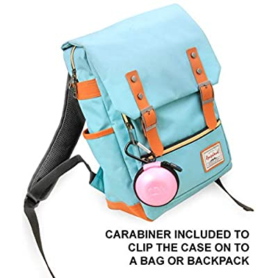 CASEMATIX Pink Carry Case Compatible with Sphero Specdrum Music Rings and App Enabled Color Ring USB Charging Cable – Includes CASE ONLY: Toys & Games