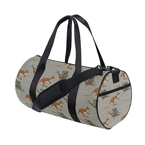 Handbags Durable Kalamazoo Kangaroo Australia Travel Duffel Bags Comfortable Handbag Organizer For Women Boy Crossbody Bags Workout Run College School Bag ()