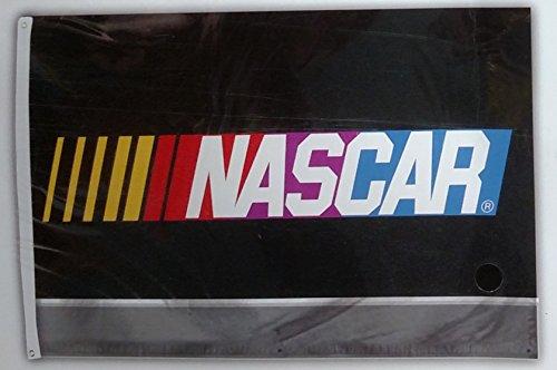 Banner Nascar (Nascar Logo Brand 2017 Version 3x5 Flag Outdoor House Banner Nascar Racing)