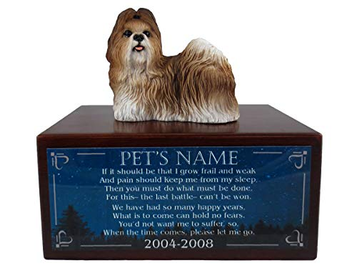 (Conversation Concepts Tan Shih Tzu Urn)