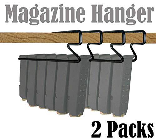 E-ONSALE Universal Handgun Pistol Magazine Hanger Holder (2 Packs)
