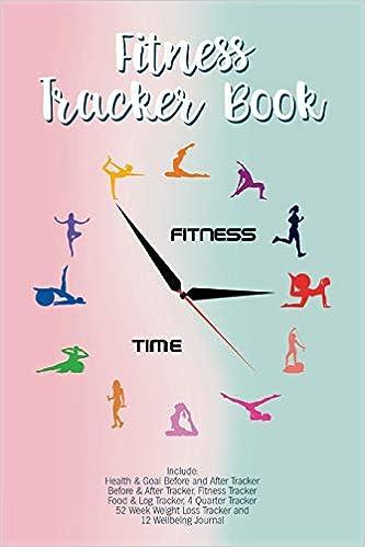 Fitness Tracker Book: Fitness Agenda, Fitness Planner Binder ...