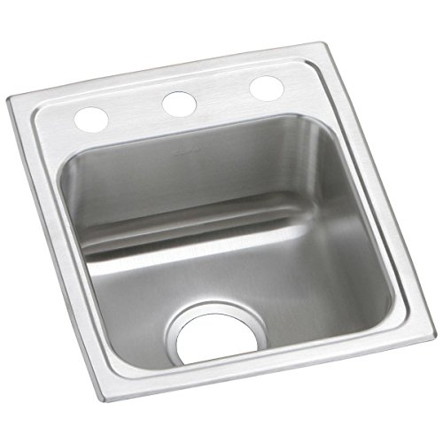 - Elkay Celebrity PSR15171 Single Bowl Top Mount Stainless Steel Bar Sink