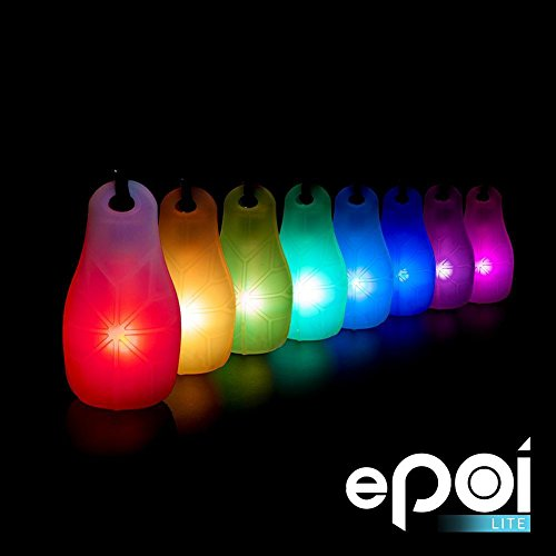 EmazingLights ePoi Lite LED Poi Balls - A Brighter Way to Spin Poi (Lite Recharge)