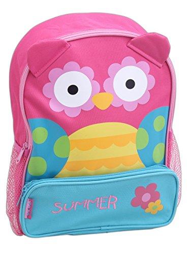 Stephen Joseph 12 75  Personalized Embroidered Childrens Sidekicks Backpack  Owl