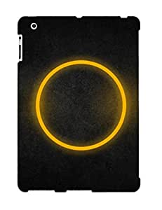 ACCBulG3643aYBED Case Cover Yellow Circle Ipad 2/3/4 Protective Case