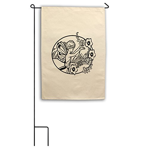 Style in Print Color Your Color-In Fairy Rising Arms Canvas