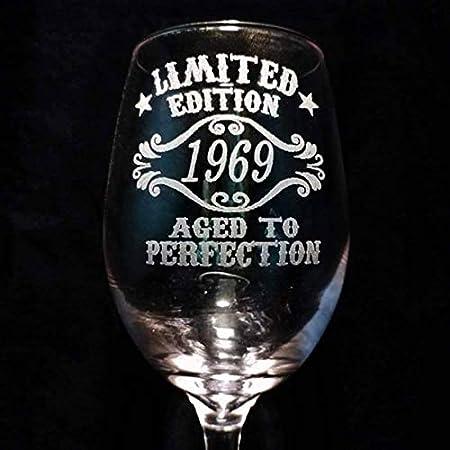 Copa de vino para regalo de 50 cumpleaños para mujer ...