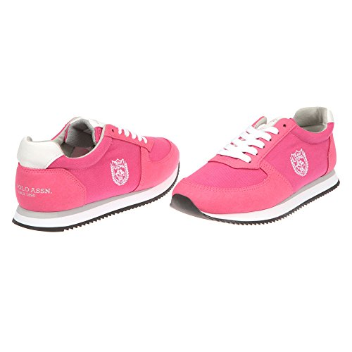 U.S. POLO Chaussures de course à pied pour femme, fermeture à lacets - mod. NOBIW4193S7-CH1