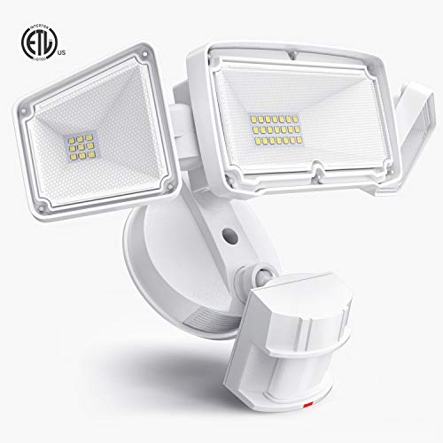 3 Head LED Security