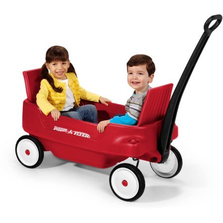 Radio Flyer Pathfinder Wagon Exclusive convertible feature