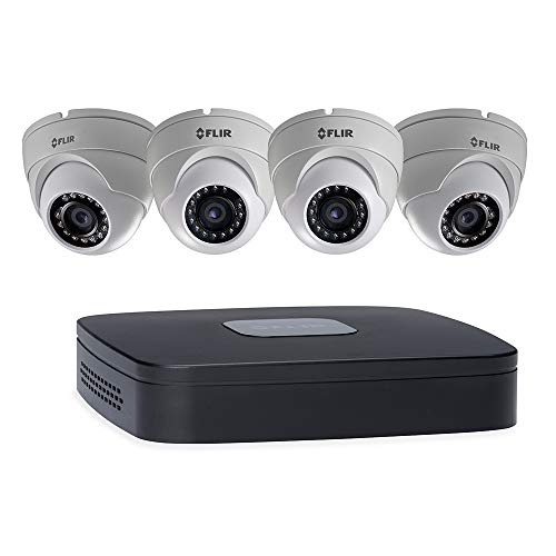 FLIR Full HD PoE NVR Security System