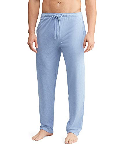 Polo Ralph Lauren Men's Supreme Comfort Covered Waistband PJ Pants Campus Blue Heather/Bright Navy Pp X-Large