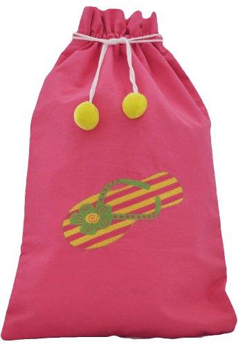 (Bag - Flip flop Beach Bag)