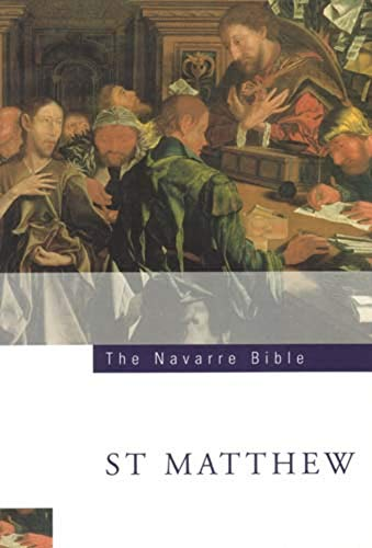 The Navarre Bible: St Matthew's Gospel: Third Edition