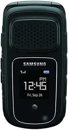 Samsung Rugby 4, Black (AT&T)