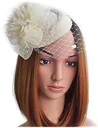Fascinator Hats Pillbox Hat British Bowler Hat Flower Veil Wedding Hat Tea  Party Hat 72327743854