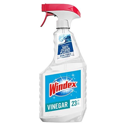 Windex with Vinegar Glass Cleaner, 23 fl oz Trigger Bottle (Glass Cleaner Trigger Spray)