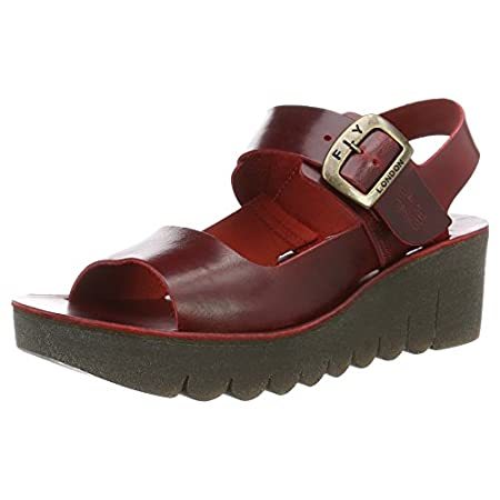 Fly London Women's Yail907fly Wedge Sandals 41i1fnTK zL