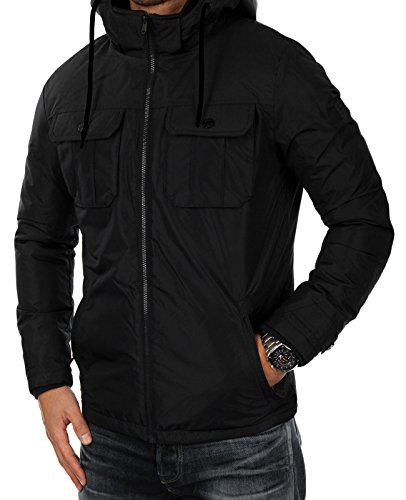 Sleeve Long amp; Black JACKET Men's Jacket Down FLICKER Schwarz Fit Jones Jacket slim Jack qp0YxB6Y