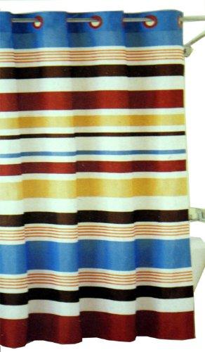 Amazon Hookless Fabric Shower Curtain