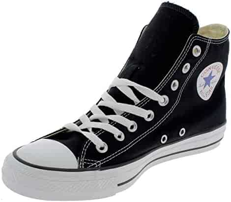 Converse Mens Chuck Taylor All Star High Top, 5 D(M) US, Black Monochrome