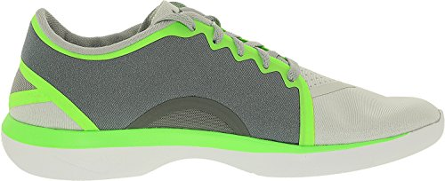 Nike Womens Lunar Sculpt Scarpa Da Corsa Alta Alla Caviglia Cool Grey / White / Pure Platinum / Voltage Green