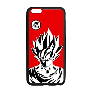 Dragon Ball, Custom iphone 6 plus (5.5 inch) Case Cover TPU Rubber for iphone 6 plus
