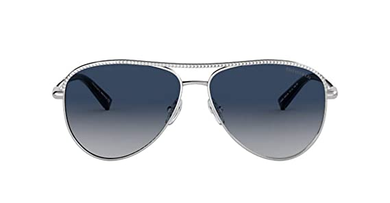 Gafas de Sol Tiffany Diamond Point TF 3062 Silver/Blue ...