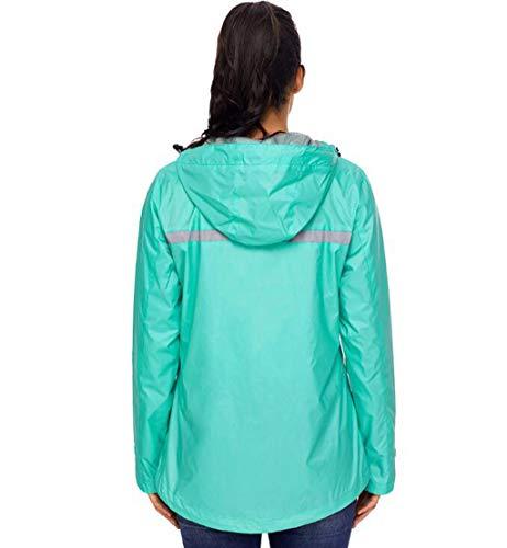 Outdoor Antivento Cappotto Pink Scuro Abbigliamento Da Protezione Dimensioni Di Giacca Xl Acvxz Impermeabile Solare colore Montagna Verde Donna 8wUISqX4