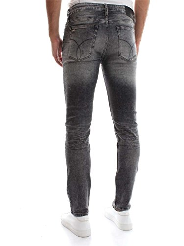 Klein Denim Straight Taper Calvin 32 Jeans Uomo Black J30j306185 L TFxwxq4gd