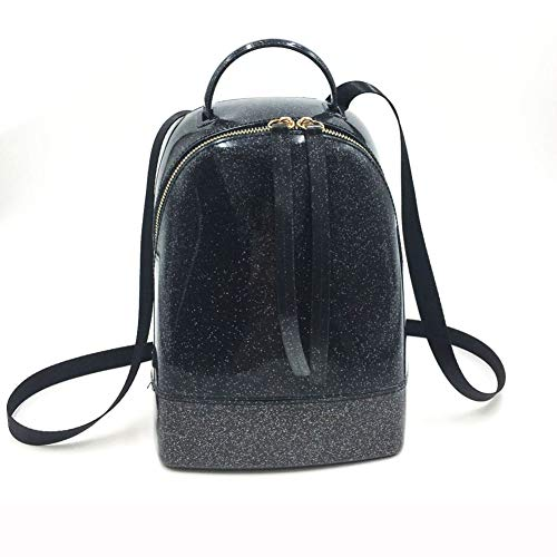 Dos Student Sac TT Sac à Sac de Femme Color Mode Backpack Double à B épaule coréenne Sac A bandoulière Nouvelle en Silicone gelée Double Candy étanche 5U5wrEnq