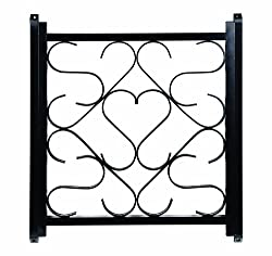 Camco 43993 Screen Door Deluxe Grille (Black)
