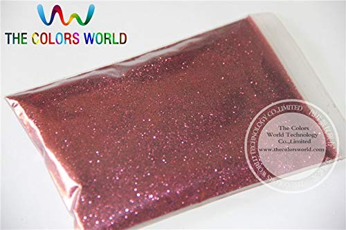 Kamas TCM0407 Red Coffe Color Glitter powder -0.2MM glitter dust dazzling glitter powder,DIY Flash powder - (Color: 200g)