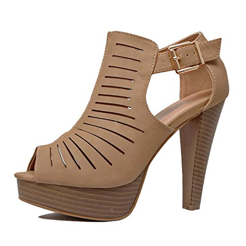 - Guilty Shoes - Table-6 Tan Pu, 8.5