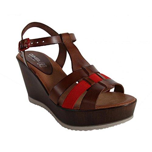 Scarpe Cumbia Donna Con Per Rojo Zeppa marron R1 30124 dwHZUwrq