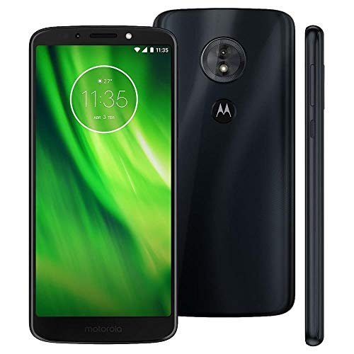 Motorola Moto G6 Play 32GB - Dual SIM 5.7' 4G LTE (GSM Only) Factory Unlocked Smartphone International Version XT1922-5 (Deep Indigo)