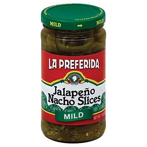 La Preferida Jalapeno Nacho Slices, Mild, 11.5 oz (Pack - 3)