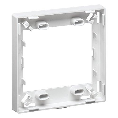 Snap Gang (Leviton 41290-DRW Dual Gang Fiber Storage/Spacer Ring, White)