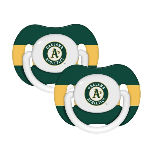 MLB Oakland Athletics Pack Pacifier