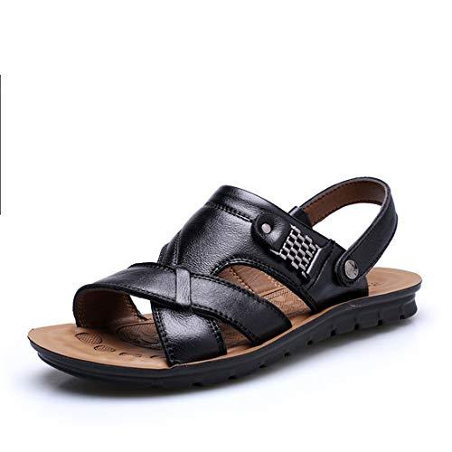 Nero Per Sandali Uomo pantofole Dual Wagsiyi Scarpe da 28 Comfort 5 All'aria Sandali Scarpe 5 Neri Casual Beach spiaggia 23 Sport Aperta Traspiranti CM qYgXPx