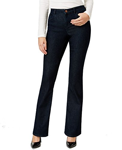 Style & Co. Womens Low Rise Five-Pocket Flare Jeans Blue 10