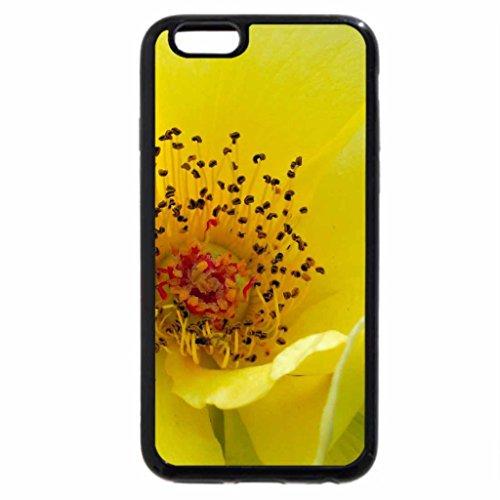 iPhone 6S / iPhone 6 Case (Black) Sunshine Blossom