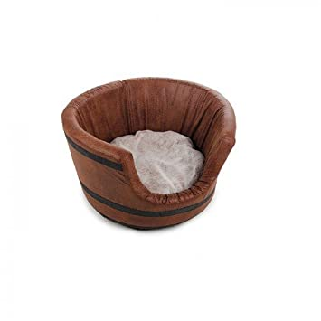 All for Paws AFP4836 Cama para Perros Barril Vintage: Amazon.es: Productos para mascotas