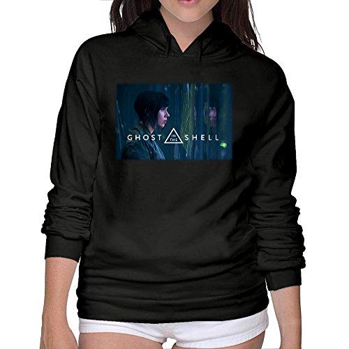 Women's Ghost In The Shell Scarlett Johansson Poster Hoodies Sweatshirt