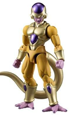 Bandai Shokugan Shodo Dragon Ball Z Golden Frieza Action (Bandai Toy)