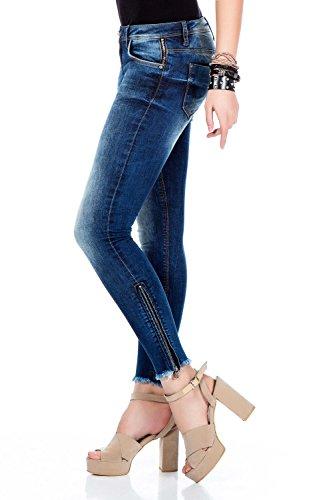 Wd333 Baxx amp; Jeans Blu Donna Cipo w4BqUSp